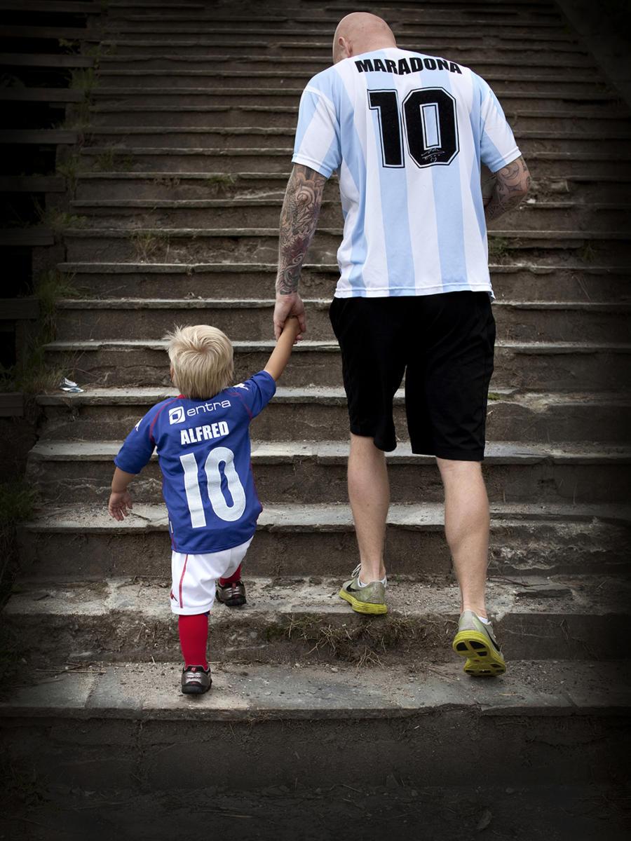 Alfred og onkel Maradona