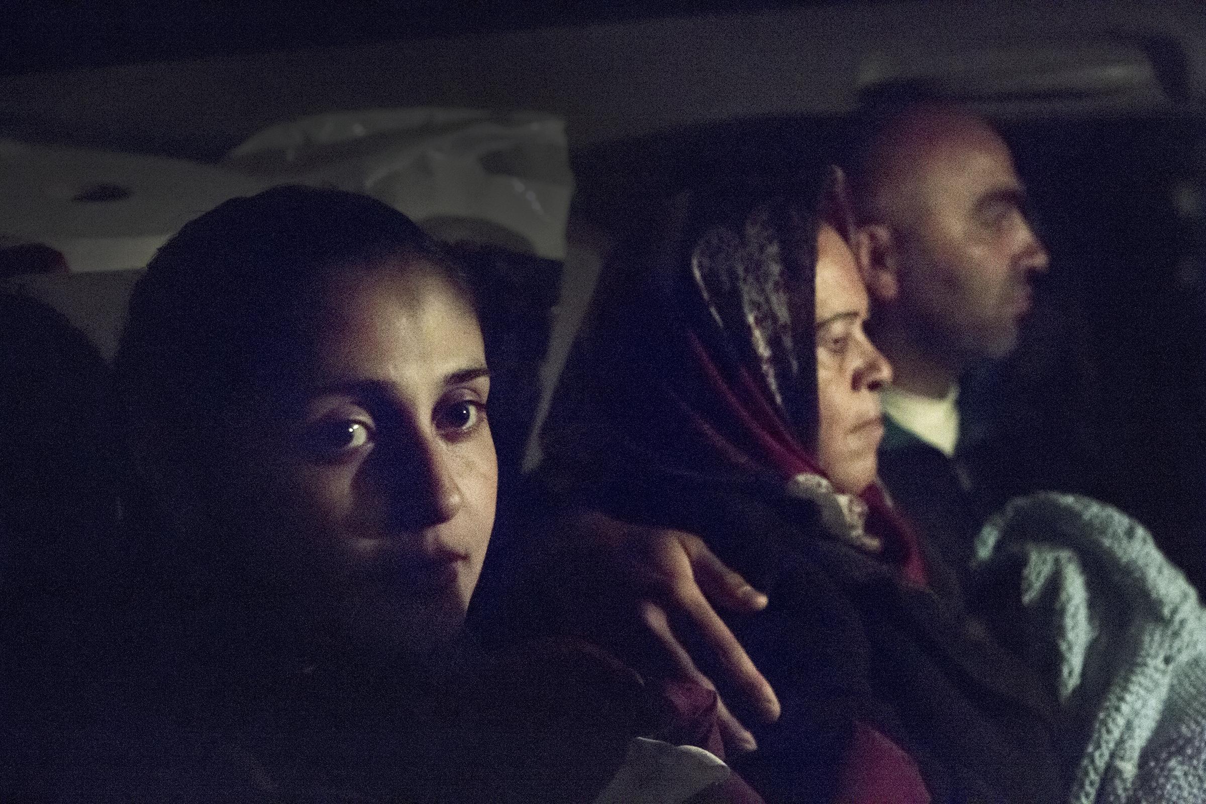 Barvan har flyktet fra Syria med mann og to små barn.