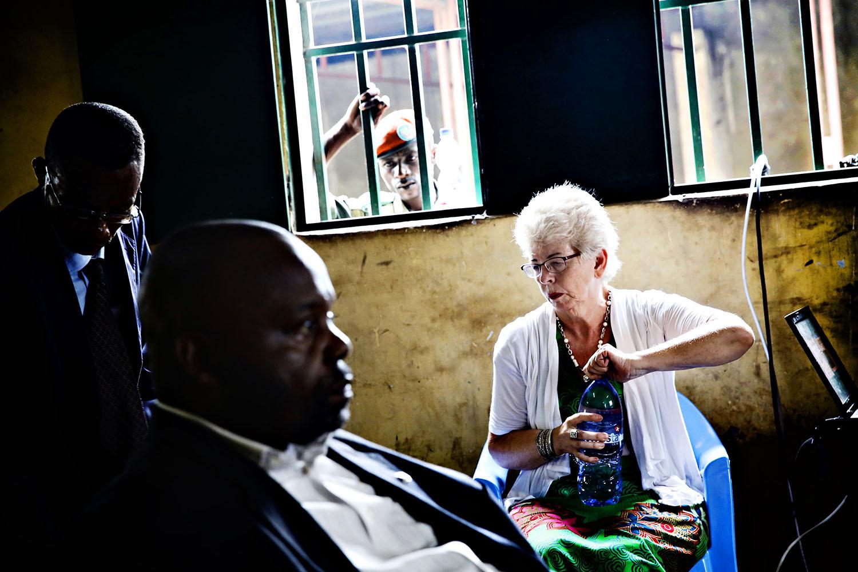 Kari Hilde French opplevnde rettssaken i Ndolofengselet i Kinshasa som svært frustrerende.