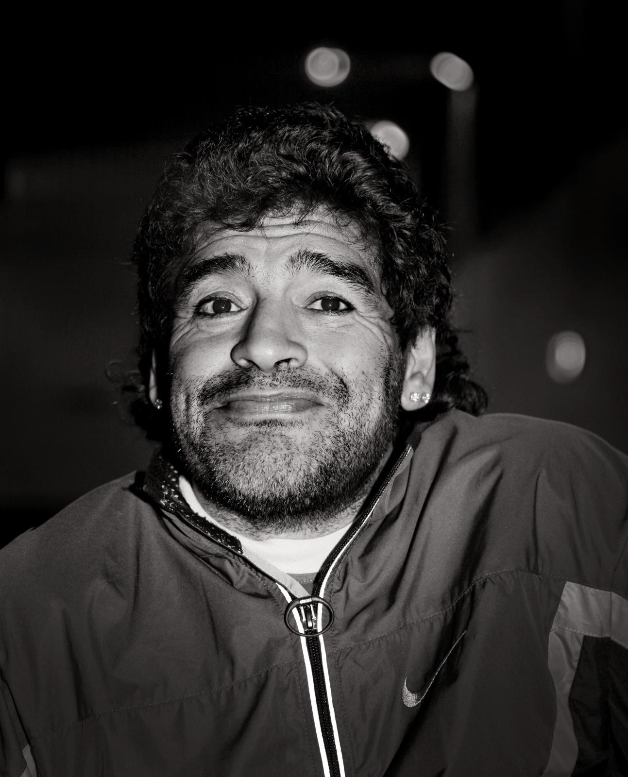 Diego Maradona, Buenos Aires 2006.